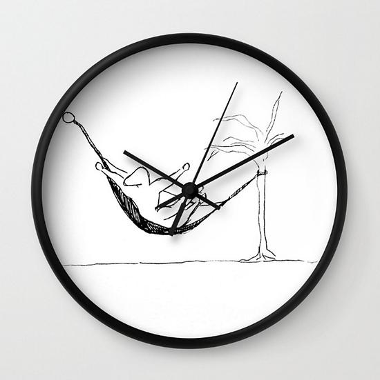 Chill - Wall Clock