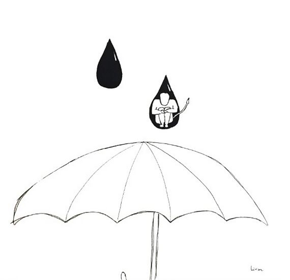 In A Drop - Art print