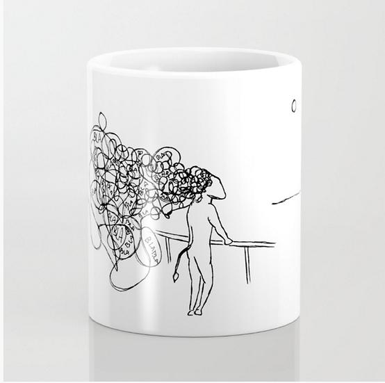 Blah Blah - Mug