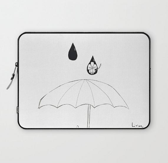 In a drop - Laptop Sleeve