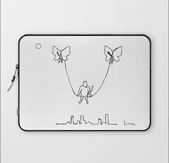 Flying swing - Laptop Sleeve