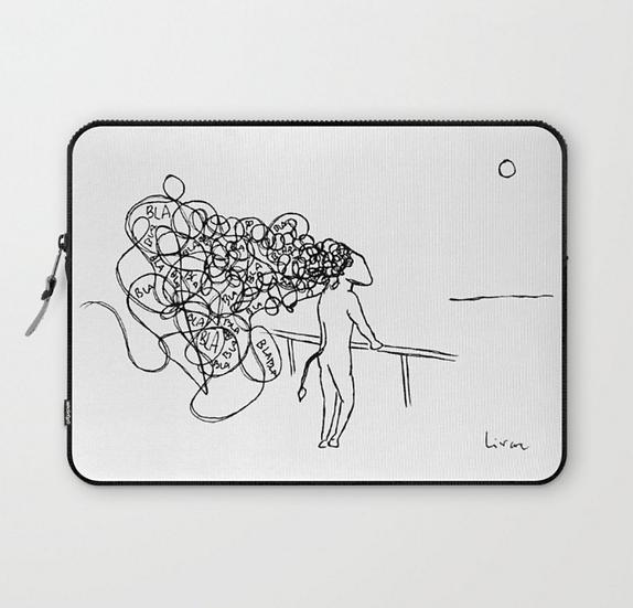 Blah Blah - Laptop Sleeve