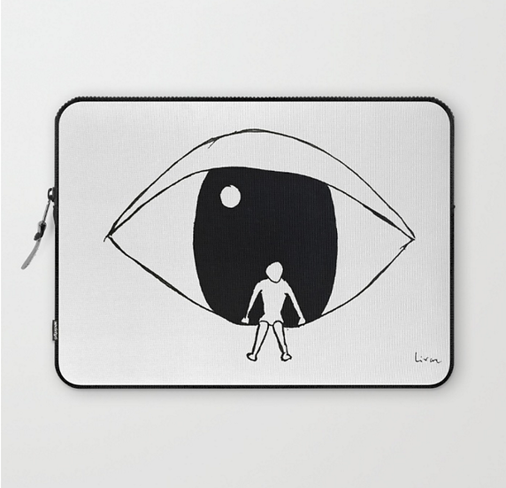 Watching - Laptop Sleeve