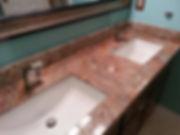 GCR Granite vanity top