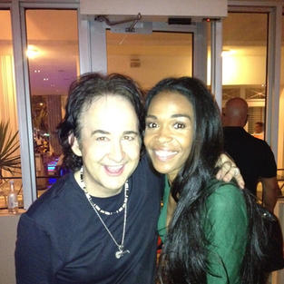 Brent with Michelle Willams