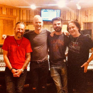 Rob Roy, David Keith, Paul Kronk and Brent