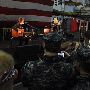 Scott and Brent- USO