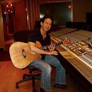 Brent at Gloria Estefans Studio