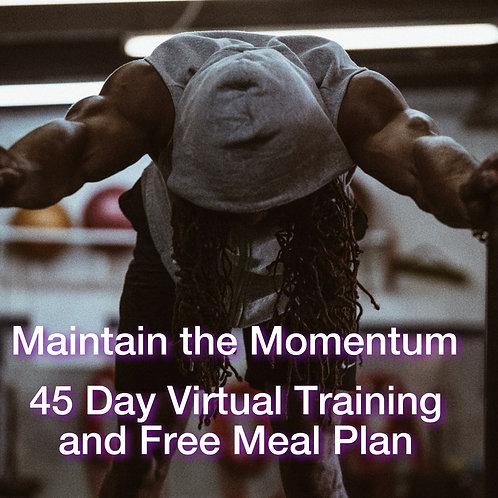 Maintain the Momentum