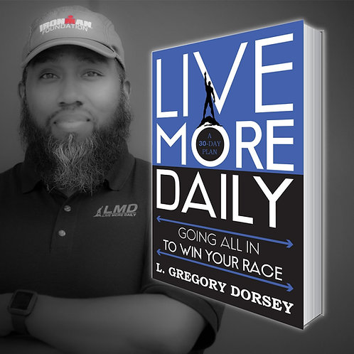 Autographed Copy of LMD: Going All in to Win Your Race