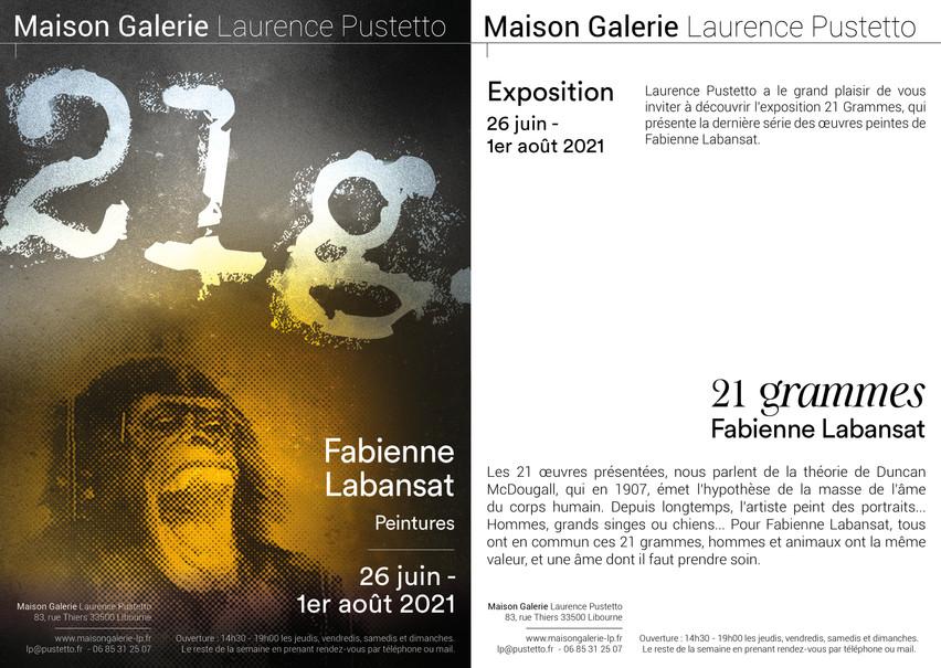 Invitation exposition_21 grammes_Maison