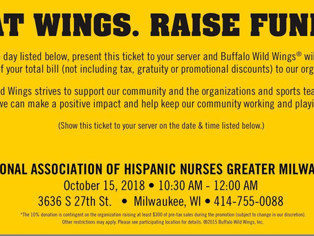 Eat Wings, Raise Funds!