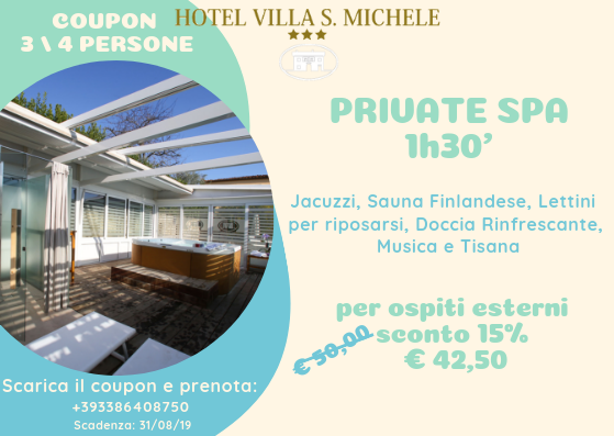 COUPON 3 _ 4 PERSONE