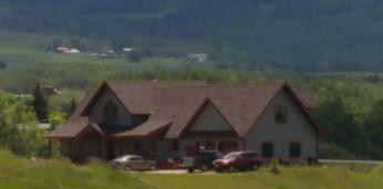 Custom Home nestled in Beartooth Mountains
