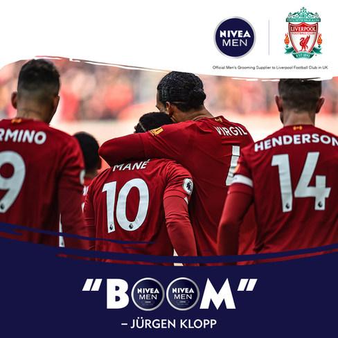 NIVEA Men UK + Liverpool FC