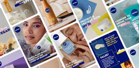 NIVEA UK, online branding