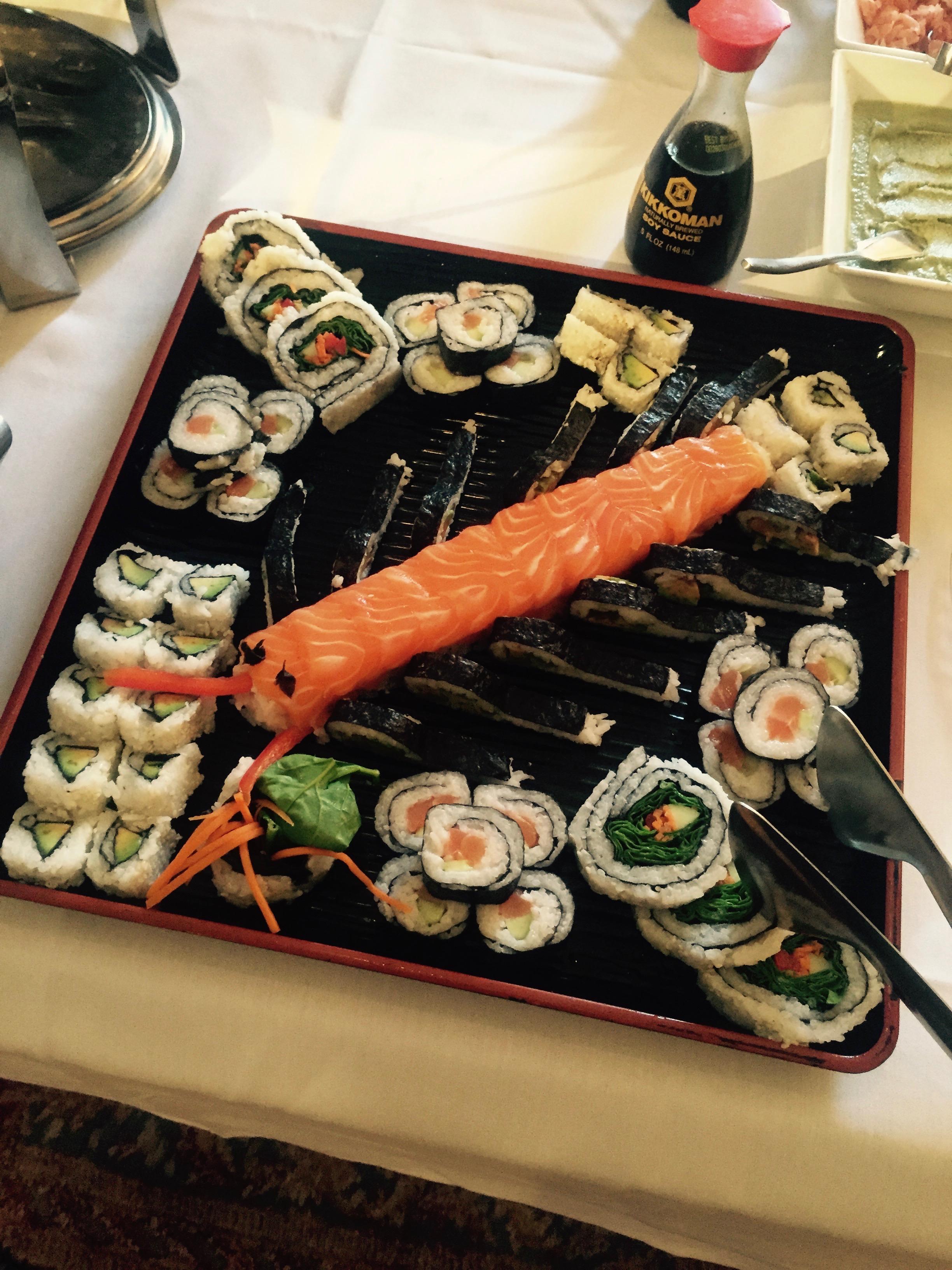 Specialized Sushi Platter