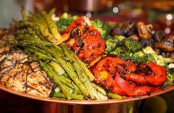 Roasted Vegetables Platter