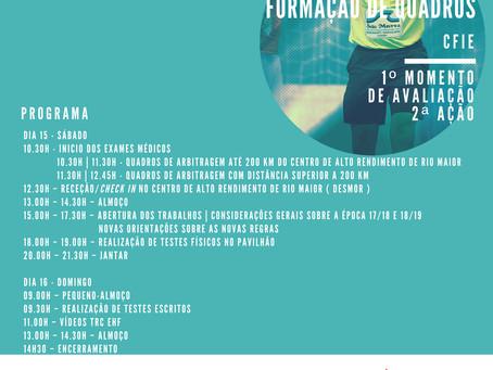 Arbitragem - Formação de Quadros | Rio Maior 2018
