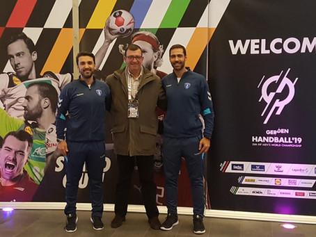 2019 Men's IHF World Championship - A acompanhar a Dupla Ricardo Fonseca/Duarte Santos