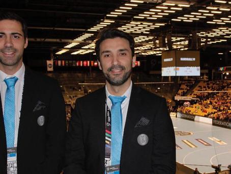 2019 Men's IHF World Championship - Nomeação Jogo 3º/4º Lugar - Dupla Ricardo Fonseca/Duarte Santos