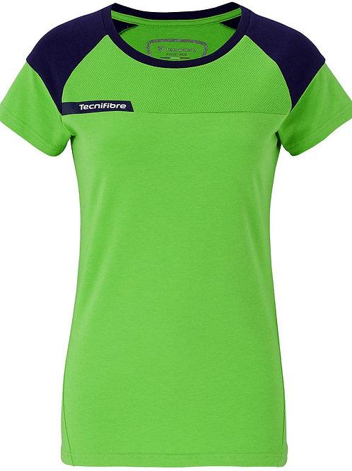 Дамска тениска F1 Stretch green