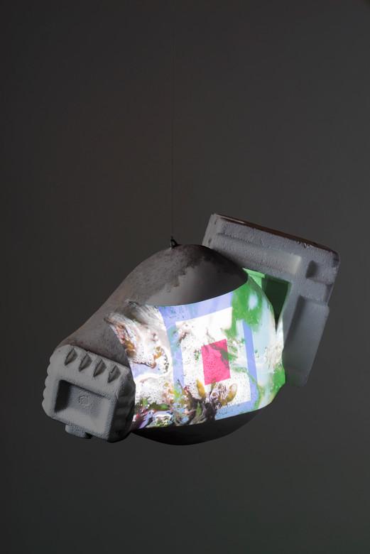 Invader Video Sculpture