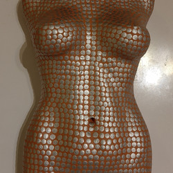 silver spotted bust