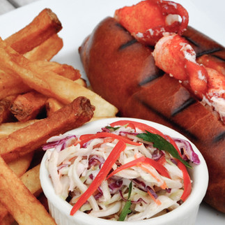 Butter Poached Lobster Roll - Dave's at Home
