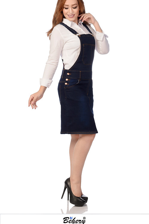 Overall short skirt
