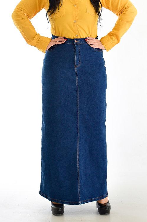تنورة طويلة ( جيبه ) جينز
