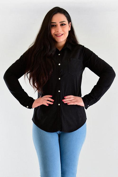 قميص قطني قصير