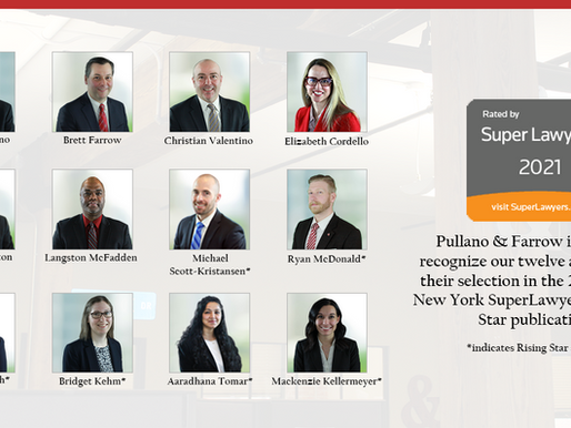 Twelve Attorneys Selected as SuperLawyers in 2021 Publication