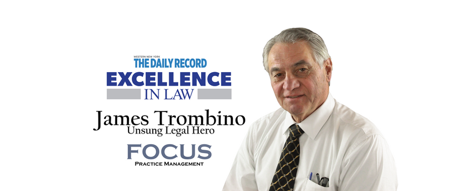 James Trombino - Named by Daily Record, Unsung Legal Hero