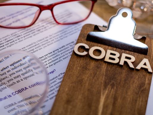 Changes to COBRA under American Rescue Plan Act of 2021