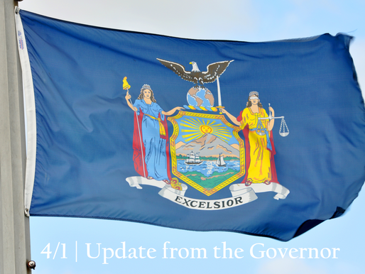 4/1 Update from the Governor