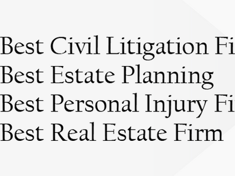 P&F Voted as Best Law Firm in Four Categories in the RBJ/Daily Record 2020 Reader Rankings