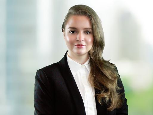 Law Clerk Krystyna Blokhina Gilkis Sworn in to New York State Bar