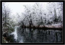 La rivière l'Avre à Nonancourt