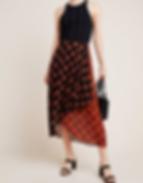 Anthropologie Oksana Midi Skirt