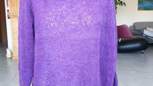 Mohairrolli violett
