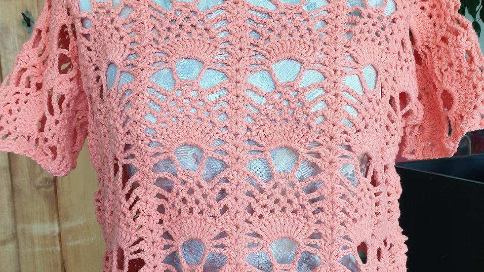 Häckelspass in rosa