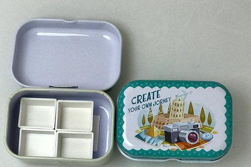 Mini Watercolor Tin Palettes