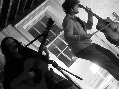 Lizzie Nunnery and Vidar Norheim alternative folk duo Songs of Drink & Revolution