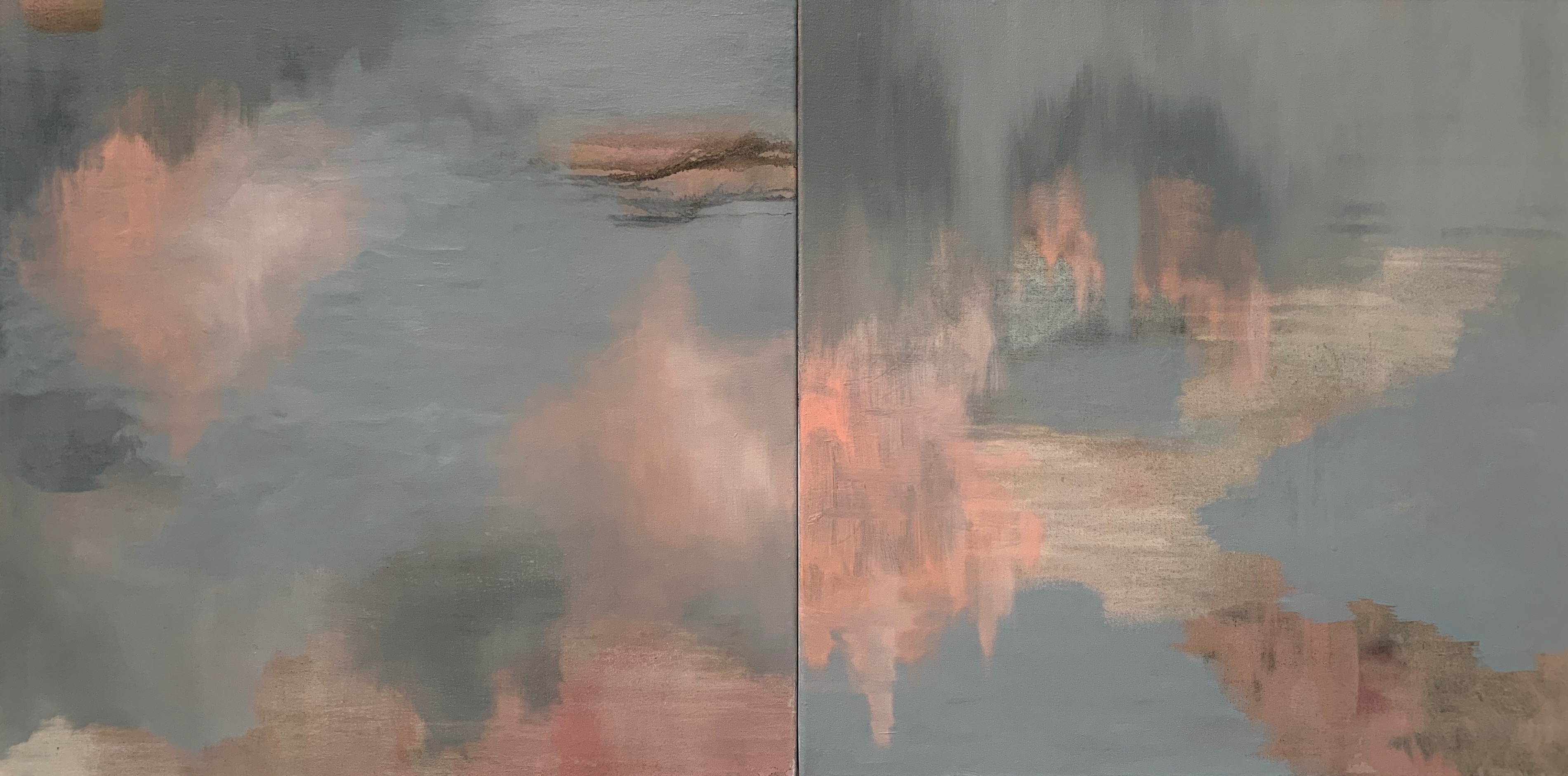 Definite Possibilities_11 Diptych 55.5x111.5