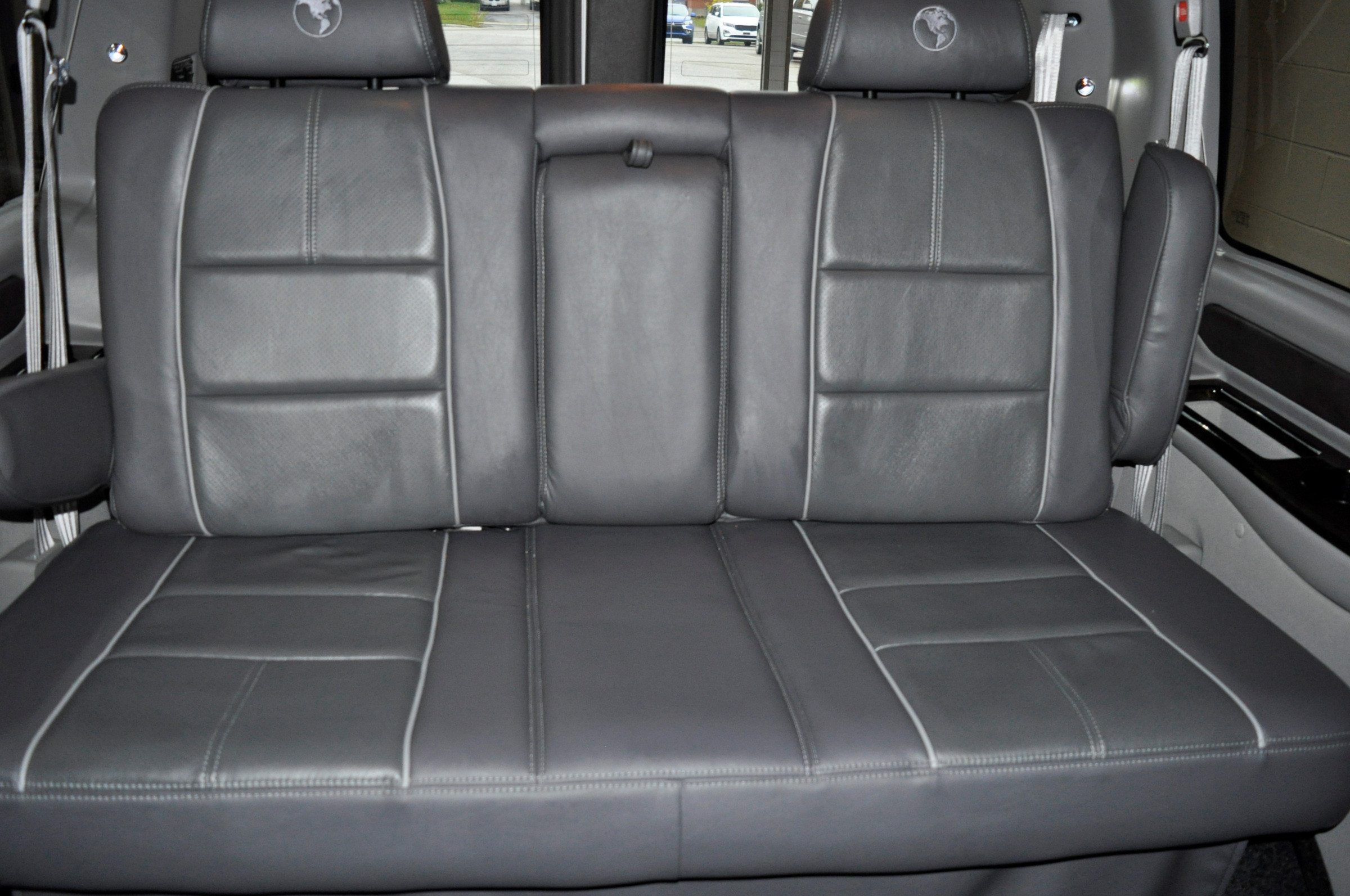 close up rear seat