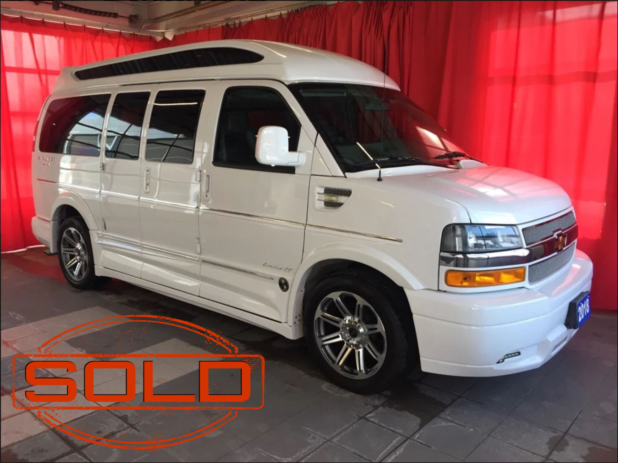 B5463 SOLD - White van(1)