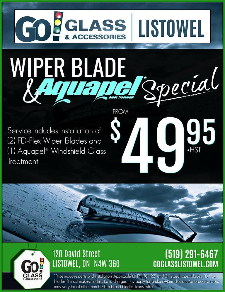 Wiper Blade & Aquapel Special!
