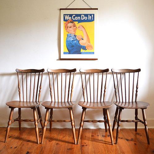Série de 4 chaises Floride de Baumann