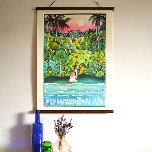 Affiche Fly Hawaiian Air